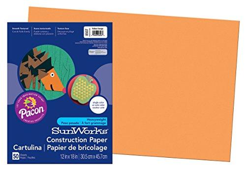 Orange 12x12 Paper - 3