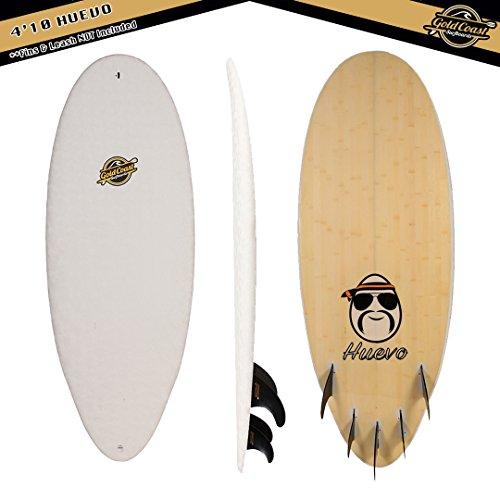 Gold Coast Surfboards - 4'10 Hybrid Soft Top Foam Surfboa...