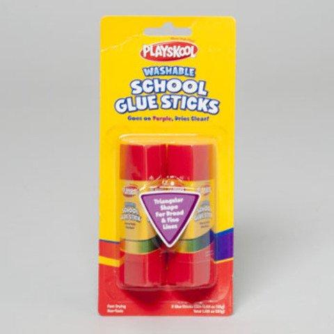 Playskool Glue Stick 2 pack 48 pcs sku# 674475MA by DDI