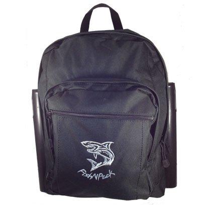 Fishnpack Top Predator Backpack with Rodholders (Black)