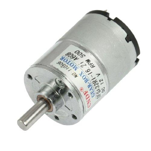 DC 12V 50mA 500RPM 0.3Kg-cm High Torque Permanent Magnetic G