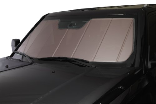 Covercraft UVS100 - Series Heat Shield Custom Windshield Sunshade for Select Chevrolet/GMC Models - Laminate Material (Rose)