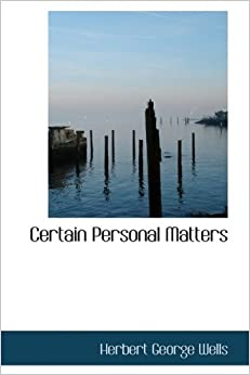 Book Certain Personal Matters
