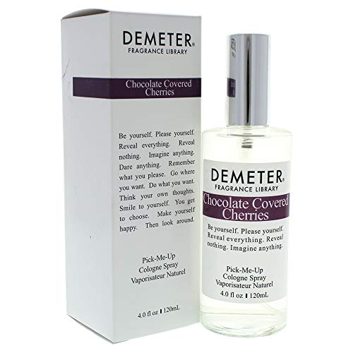Demeter Cologne Spray, Chocolate Covered Cherries, 4 Ounce