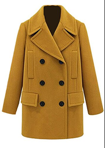 Double Breast Wool Jacket - 2