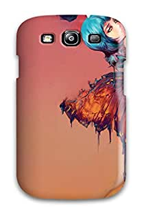 Hot New Style The Blue Rose Premium Tpu Cover Case For Galaxy S3
