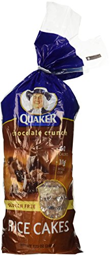 - Quaker Chocolate Rice Cake, 7.23 oz, 2 pk