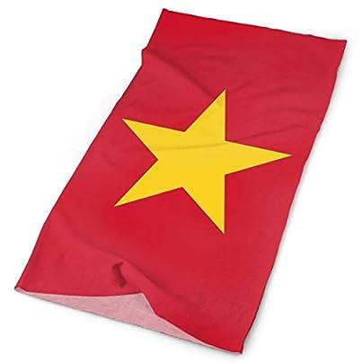 Vietnam Flag Headband Men Women Headwrap Magic Head Scarf Bandana Headwear Neckerchief Multifunction Balaclava Casual Headdress Wristband Face Mask Neck Gaiter Estimated Price -