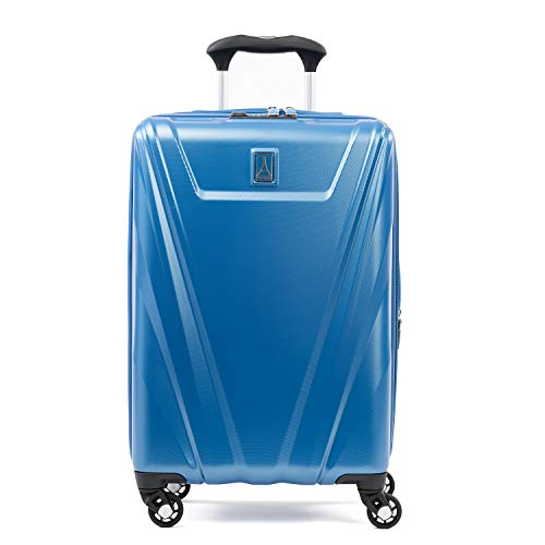 Travelpro Maxlite 5 Expandable Carry-on Spinner Hardside Luggage, Azure Blue