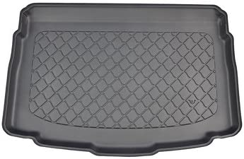 Nomad Auto Tailored Fit Durable Black Boot Liner Tray Mat Protector for VW T-Roc 2017 on