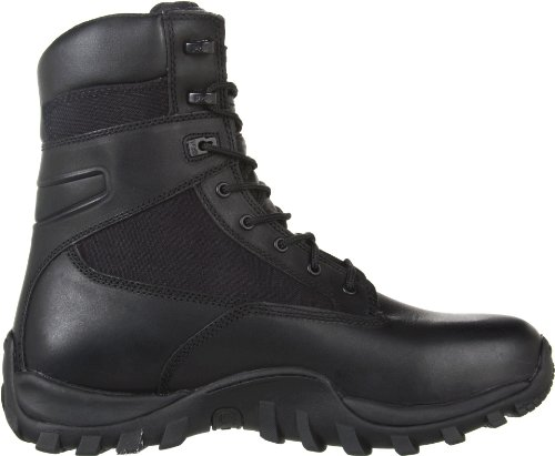 Timberland Pro Valor Mens Mcclellan 8 Work Boot In Pelle Nera