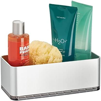 mDesign Cesta para ducha – práctica estantería de baño sin ...