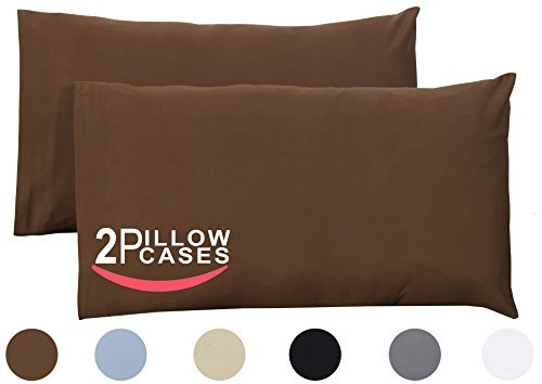 King Pure Cotton Pillow Case Covers