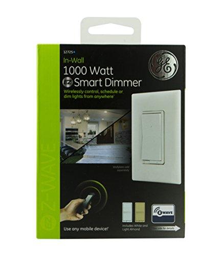ge z wave in wall 1000 watt smart dimmer. Black Bedroom Furniture Sets. Home Design Ideas