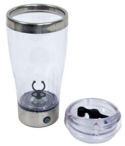 Angelwing Protein Shaker Tornado Vortex Mixer Portable Mug 18 Oz. Battery Shake Blender