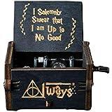 Harry Potter Black Edition Classic Mini Music Box