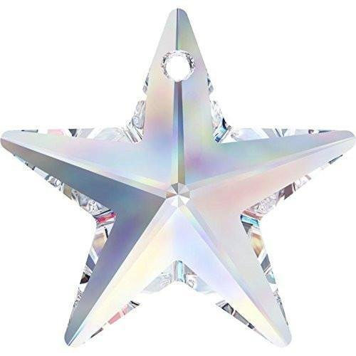 6714 Swarovski Pendant Star | Crystal | 20mm - Pack of 1 | Small & Wholesale Packs