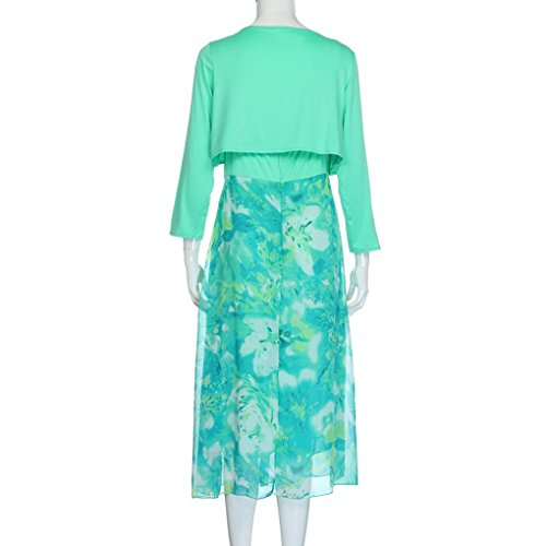 ❤ 50er Vintage Retro Kleid ❤ Damen Party Club Kleider Boho ...