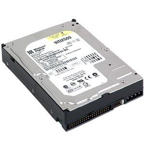 Western Digital 250GB Pata 7200RPM Hard Drive Model WD2500JB