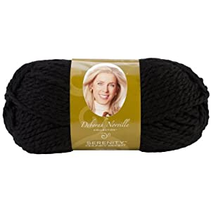 Premier Yarn Deborah Norville Collection 3-Pack Serenity Chunky Solid Yarn, Raven
