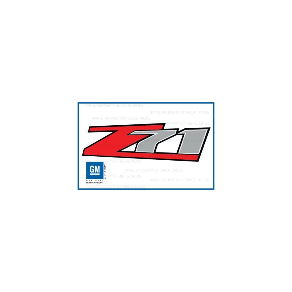 Chevy Silverado Z71 decals stickers   F (2007 2012) bed side 1500 2500 HD (set of 2)