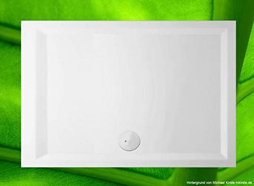 Plato de ducha 110 x 75 cm de acrílico sanitaria, plana ducha 75 x ...