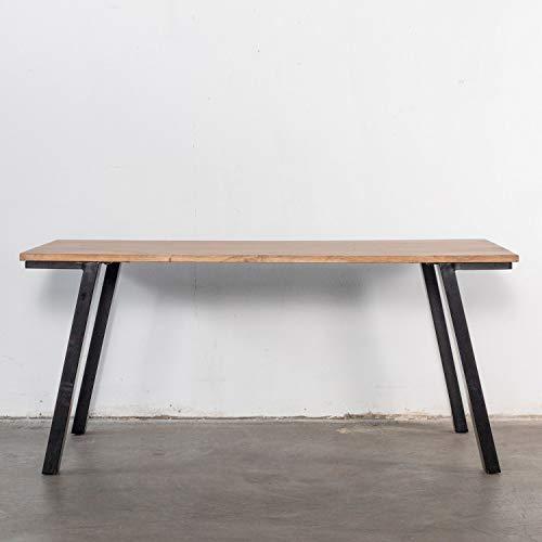 Giga matbord mansour 170 x 90 cm bord mango metall svart matbord matbord matbord