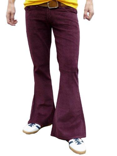 Fuzzdandy - Pantalon -  Homme Rouge Bordeaux -  Rouge - Bordeaux - petit
