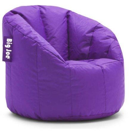 Big Joe Milano Bean Bag Chair Plush Plum