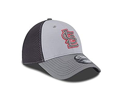 New Era MLB St. Louis Cardinals Grayed Out NEO 39Thirty Stretch Fit Cap