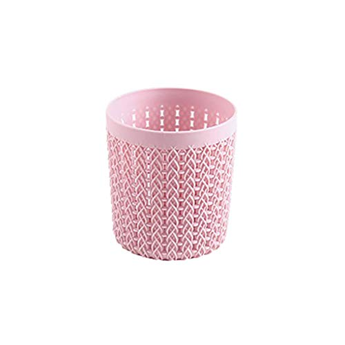 (Jiechu Living Room Dressing Table Desktop Sundries Storage Box Office Storage Box (Pink))