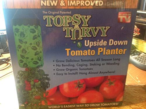 Casavidas Seeds: Topsy Turvy Upside Down Tomato Planter -As Seen On TV Topsy Turvy Tomato Planter ()
