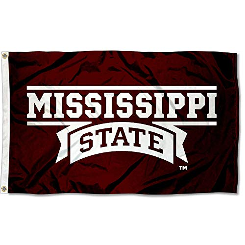 (Mississippi State Bulldogs MSU University Large College Flag)
