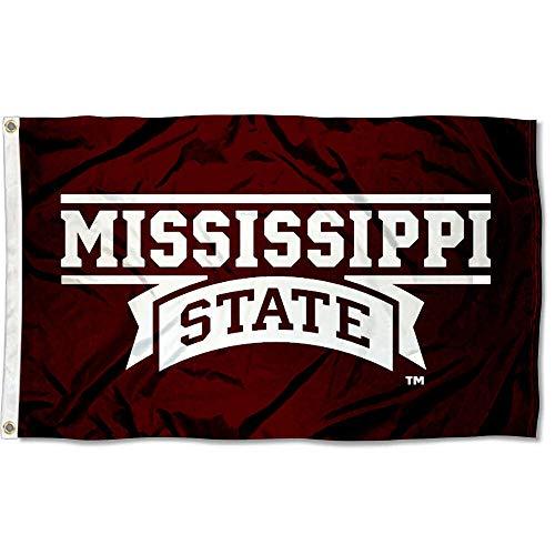 State University Bulldogs - Mississippi State Bulldogs MSU University Large College Flag