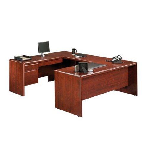 Cherry Executive U-shaped Desk - 8