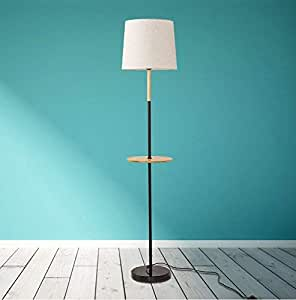 Amazon.com: DEED Floor Lamp-Led Simple Living Room Bedroom ...