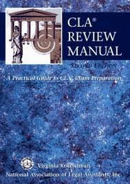 CLA Review Manual 2nd (second) edition Text Only
