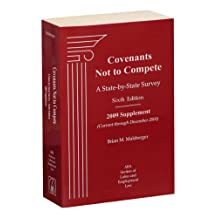 Covenants Not To Compete, 6th Edition, 2009 Supplement