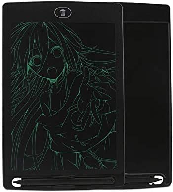 YKAIEET 8.5インチLCDライティングボード児童画グラフィティ液晶ライティングボード手描き黒板子供のおもちゃ (色 : Green, Size : 8.5 inch)