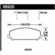 Hawk 07-10 Infiniti Q-56/Nissan Armada / 08-10 Nissan Titan LTS Street Front Brake Pads (hb620y.703)