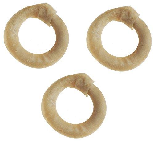 Tasmans 5-6 Inch Medium Bison Rings (Pack of 3)