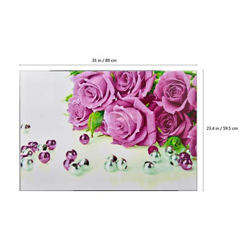 Wall Stickers - Waterproof Tinfoil Living Room Flower Shop Decals Mother 39 S Day Gift Romantic Rose Love 3d Wall - Kichen Childrens Branches Unicorn Math Animals Patrol Names Classroom Cheap
