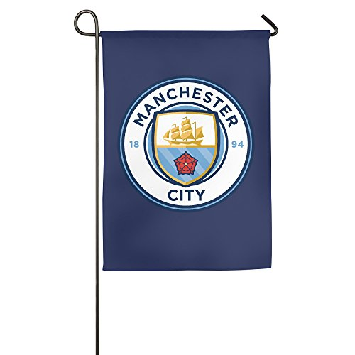 Manchester City FC Man City Football Decorative Garden Flag Outdoor