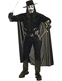 Rubies V For Vendetta Adult Costume