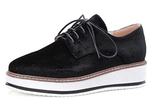 Damenschuhe Schuhe Freizeitschuhe Herbst Student Frau Aufzug Schuhe laufen Black