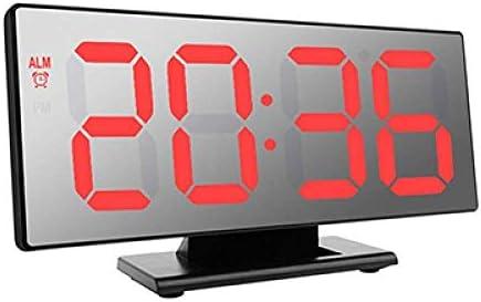 Alarm clock, LED Mirror Digital Alarm Clock Multifunction El