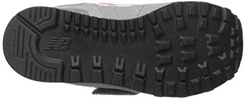 New Enfant 026 Mixte Balance Pink Multicolore 574 Sneakers Grey Hautes RqwRrXz