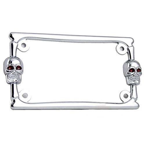 pirate license plate frame - 4