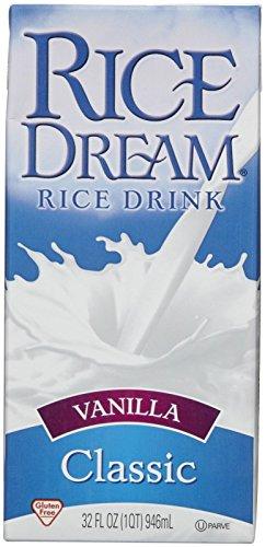 Dream Rice Drink - Vanilla - 32 oz (Rice Drink Rice Dream)