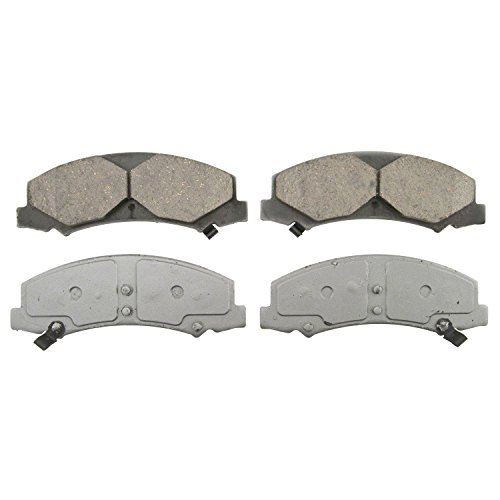 Wagner ThermoQuiet QC1159 Ceramic Disc Pad Set With Installation Hardware, Front